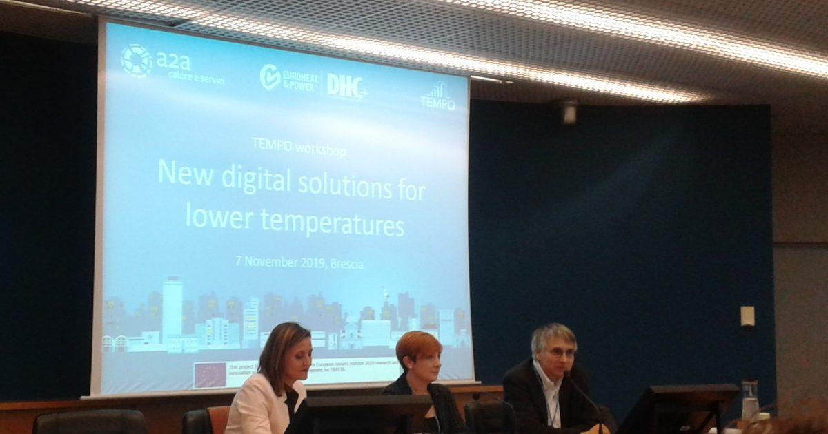 Brescia non perde TEMPO… esperti a confronto sulle soluzioni digitali per reti a bassa temperatura